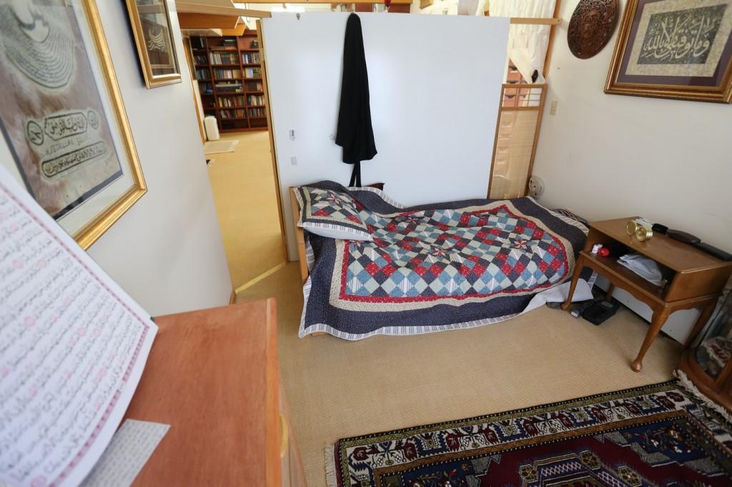 Muhterem Fethullah Gülen Hocaefendi'nin odası 2